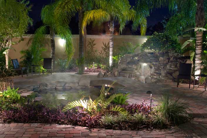 Outdoor Landscaping Lighting